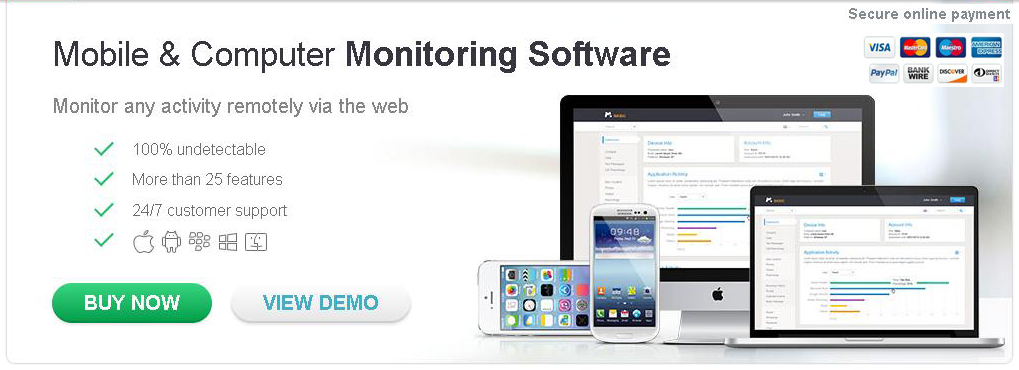 Mobile spy monitoring software free trial